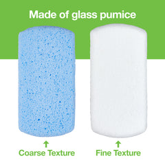 Image of Pedicure Pumice Stones Double Sided - 2 Pack - ZenToes
