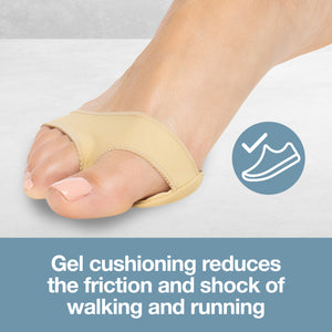 Fabric Metatarsal Gel Pads (Pair) - ZenToes Zen Toes