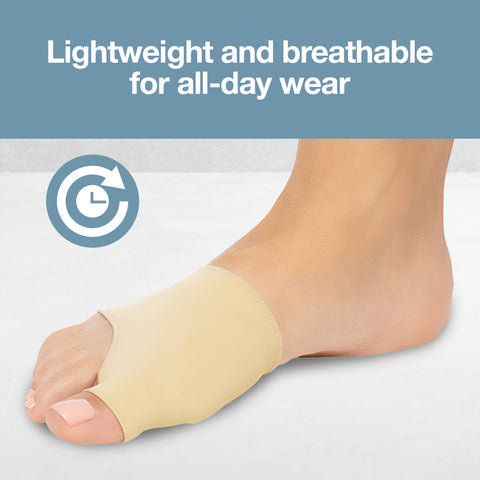 Fabric Gel Bunion Sleeves (Pair)