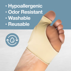 Image of Bunion Sleeves with Gel Pad Cushion (Pair) - ZenToes