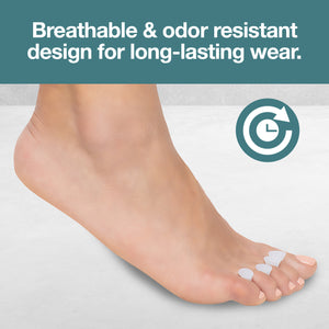 Hammer Toe Separator Crest with No Loop - 4 Pack - ZenToes