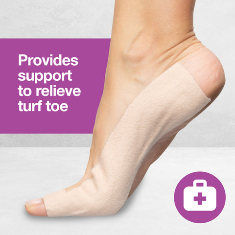 Turf Toe T-Straps - 10 Pack Moleskin Splints - ZenToes