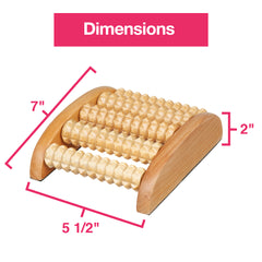 Image of Wooden Foot Massage Roller - ZenToes