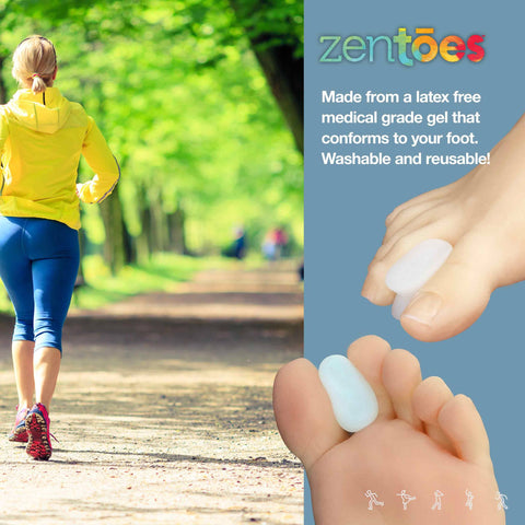 Gel Toe Separators with No Loop - 6 Pack -  - ZenToes