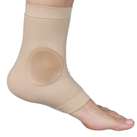 ZenToes Ankle Bone Protection Socks Malleolar Sleeves with Gel Pads for Boots Skates Splints Braces - 1 Pair - ZenToes Zen Toes
