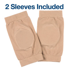 Image of Ankle Bone Protection Socks Malleolar Sleeves with Gel Pads - 1 Pair - ZenToes