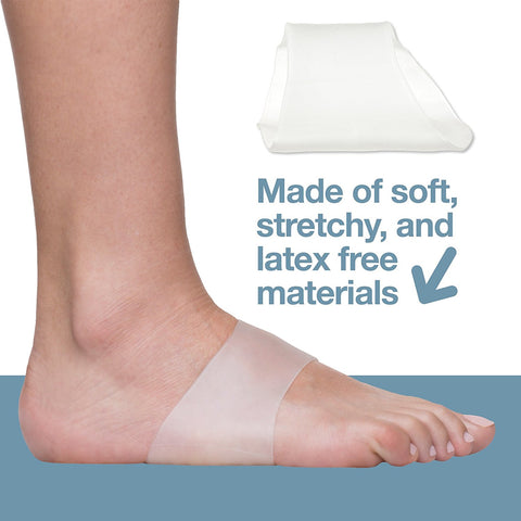 Image of Arch Support Gel Sleeves - Pack of 2 - ZenToes