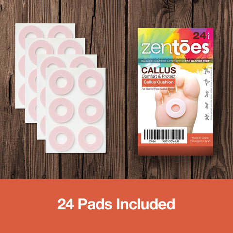 Image of Callus Pads Cushions Pack - ZenToes Zen Toes