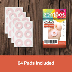 Image of Callus Cushion Pads - Pack of 24 or 48 - ZenToes