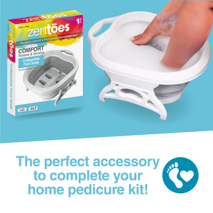 ZenToes Collapsible Foot Soaking Tub - ZenToes
