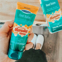 Image of Moisturizing Heel Socks with Manuka Honey Heel Balm - ZenToes