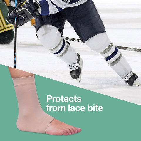 ZenToes Padded Skate Socks for Lace Bite Protection - 1 Pair - ZenToes Zen Toes