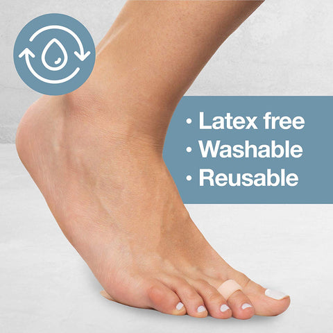 Image of Metatarsal Gel Pads - Pack of 4 Ball of Foot Cushions - ZenToes