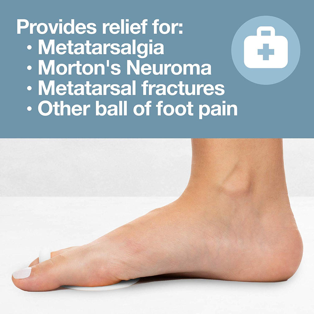Ball of Foot Cushions High Heel Inserts Pads High Heel Inserts Reusable Forefoot Cushions Best for Mortons Neuroma and Metatarsal Foot Pain Relief for