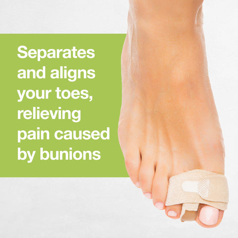 Bunion Toe Separator Wraps - 1 Pair (2 Count) - ZenToes Zen Toes