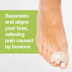 Image of Bunion Toe Separator Wraps - 1 Pair (2 Count) - ZenToes