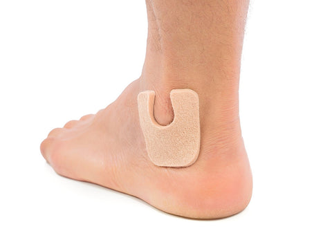 U-Shaped Felt Callus Pads - 24 Pack - ZenToes