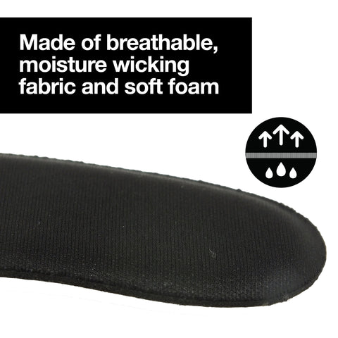 Heel Protectors Back of Shoes Cushioned Adhesive Liner Inserts - 8 Count
