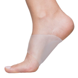 Arch Support Gel Sleeves for Plantar Fasciitis - Pack of 2 - ZenToes