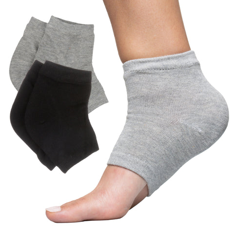 Moisturizing Heel Socks with Manuka Honey Heel Balm - ZenToes