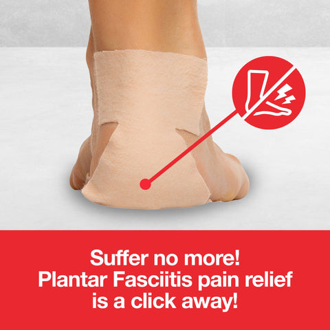 Plantar Fasciitis Pain Relief Strips - Pack of 7 - ZenToes
