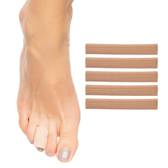 Image of Gel Lined Toe Tubes - 5 Pack - ZenToes
