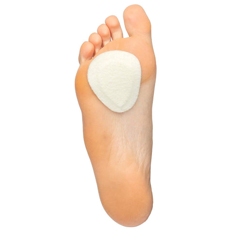 Felt Metatarsal Pads Ball of Foot Shoe Inserts - 6 Pair Pack - ZenToes