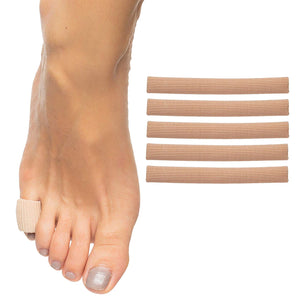 Gel Lined Toe Tubes - 5 Pack - ZenToes