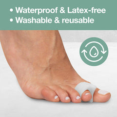 Image of Single Loop Toe Spacer for Bunion Pain - 4 Pack - ZenToes