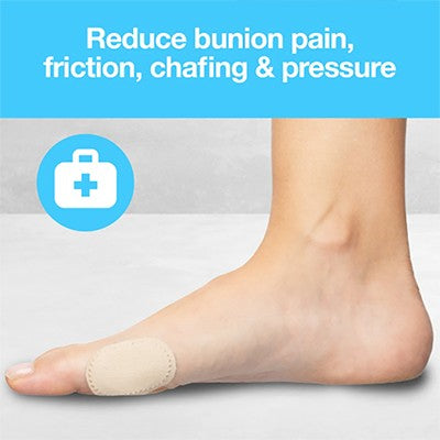 Do bunion pads come in different sizes?
