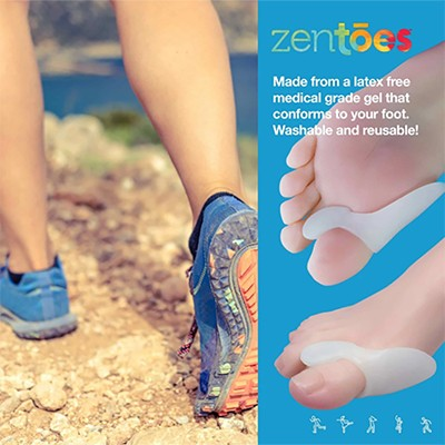 How do toe protectors relieve bunion pain?