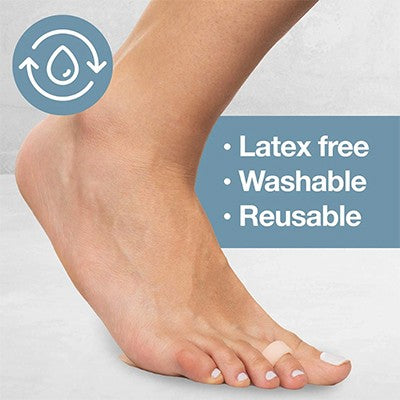 Can I wash and reuse my metatarsal gel pads?