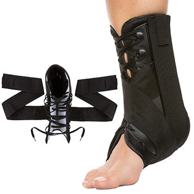Ankle Brace #1: Stabilizer with Compression Straps