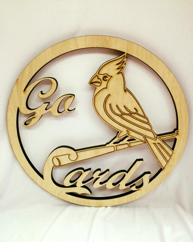 Wooden Go Cards