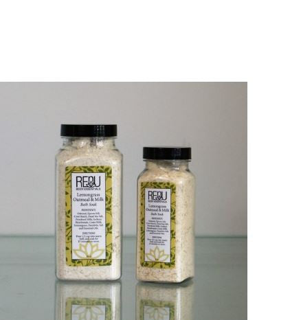 Lemongrass Oatmeal & Milk Bath Soak