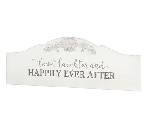 """Happily Ever After"" Wedding Sign"
