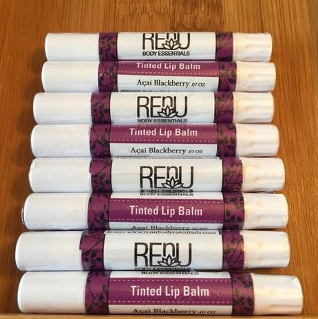 Acai Blackberry Tinted Lip Balm