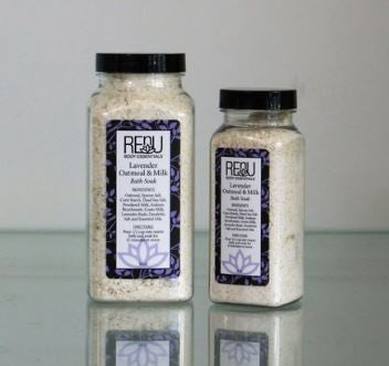Luxurious Lavender Oatmeal & Milk Bath Soak