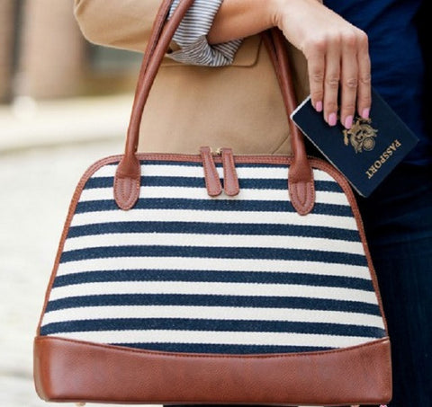 Chandler Stripe Bag