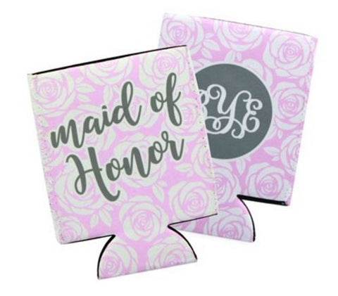 Maid of Honor Coozie