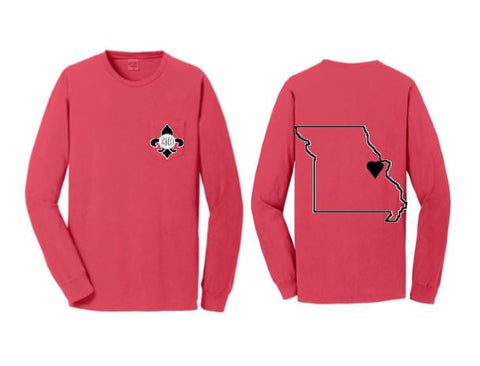State Pride Long Sleeve T Shirt