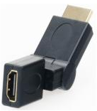 HDMI Fem-Male 360 Degree
