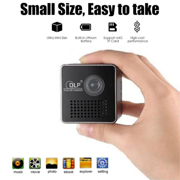 WIFI Mini Cube Projector