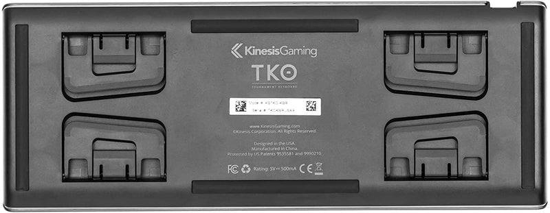 KINESIS Gaming TKO Tournament Keyboard and Travel Case