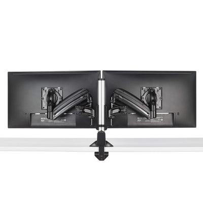 CHIEF Monitor Arm White CHIEF KX Low-Profile Dual Monitor Arms, Column Desk Mount, White