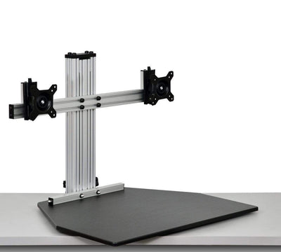 Ergo Desktop Workstation Monitor Mounts Black / None / None Ergo Desktop Wallaby Elite