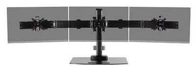 Ergotech Monitor Desk Stand Ergotech Triple Monitor Horizontal Desk Stand 130 Series