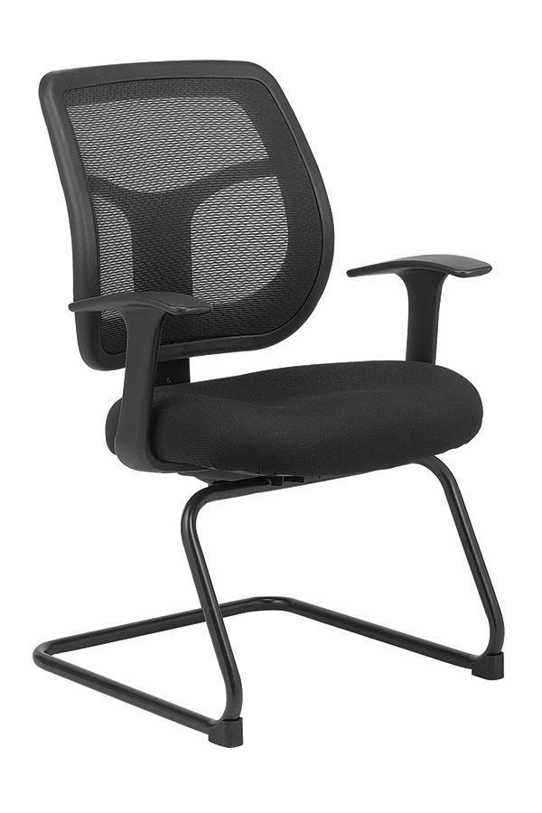 Eurotech Guest Chair BLACK MESH Eurotech apollo guest chair