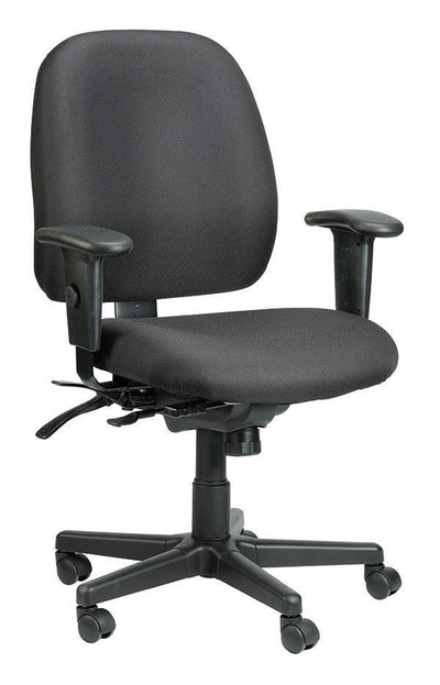 Eurotech Office Chair Black Eurotech 4x4 Chair 49802A