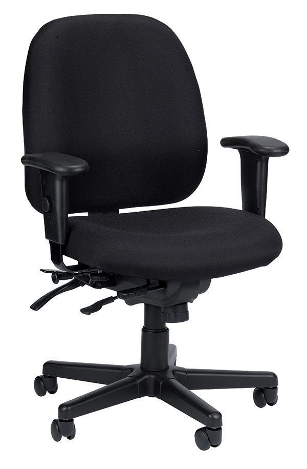 Eurotech Office Chair Black Eurotech 4x4sl Chair